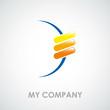 Logo teamwork in the world # Vector