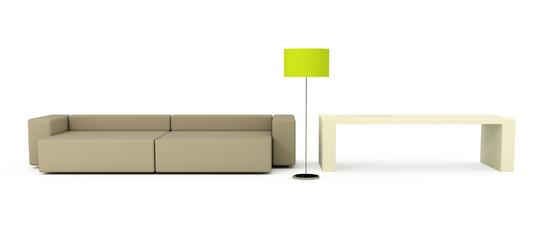 sofa lamp table