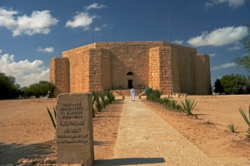 The German War cemetery at El Alamein i