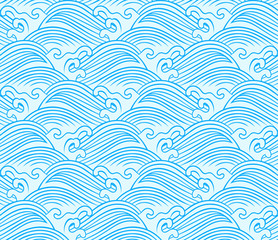 seamless wave pattern design