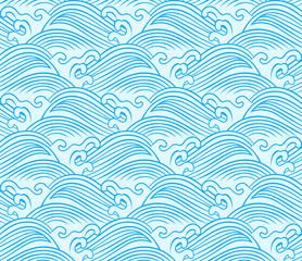 seamless wave pattern design