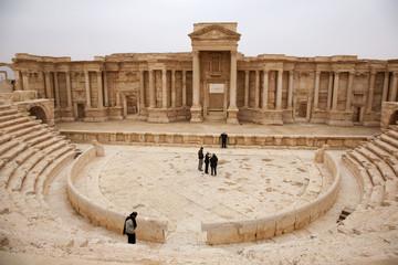 Theatre.  Palmyra. Syria