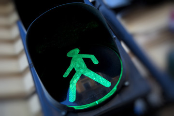 Colors of a traffic light