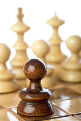 Der schwarze Bauer - Schach