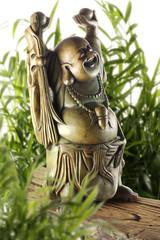 Buddha lachend