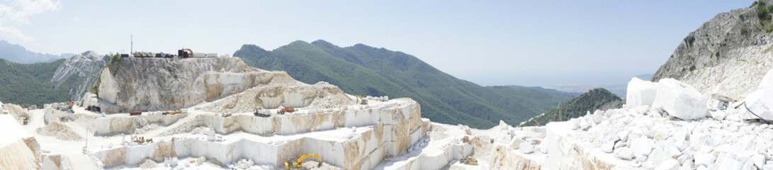 quarry in carrara