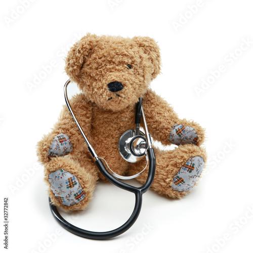 Teddy und Stethoskop