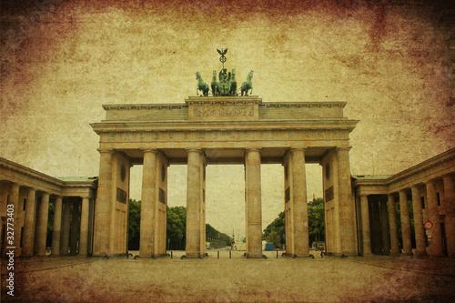 Fototapeta klasycznego - berlin - Starożytna Budowla