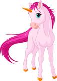Fototapety Baby unicorn