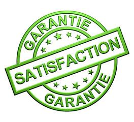 """""""Garantie Satisfaction"""" (vert)"""