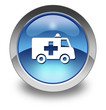 "Glossy Pictogram ""Ambulance"""