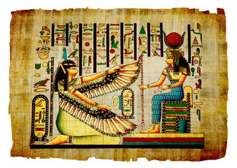 Papyrus  Old natural paper from Egypt