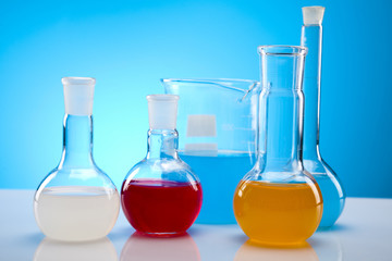 Chemistry equipment, laboratory glassware