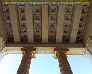 National university of Athens, Greece, detail