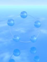 3Dの球体