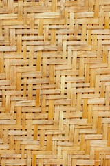 Coconut palm leaves texture. Background.