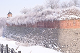 Fortification in snow