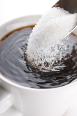 coffee with sugar
