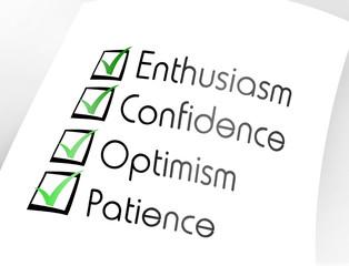 Characteristics of a good enterprising