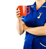 nurse coffee break