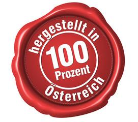 made in österreich  hergestellt in österreich siegel