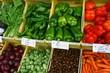 Markstand, Gemüse, Paprika, Spanien,