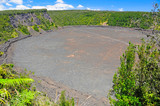 Volcanic Crater in the Tropics