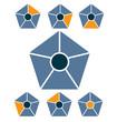 Pentagon Diagram