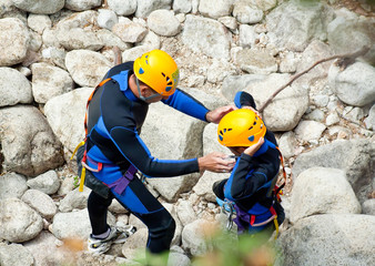 Canyoning instructor