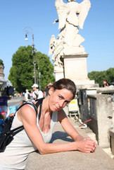 S.P.Q.R- an der Tiberbrücke-Rome