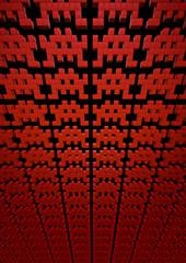 Eighties space invaders