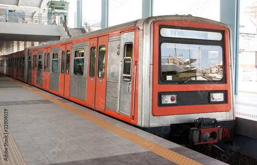 Fototapeta metro - podziemny - Metro