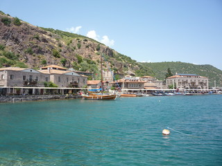 Assos ancient Harbour