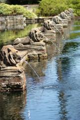 Lion Fountains