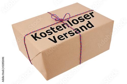 Kostenloser Versand-Paket frei Haus-Päckchen gratis Lieferung
