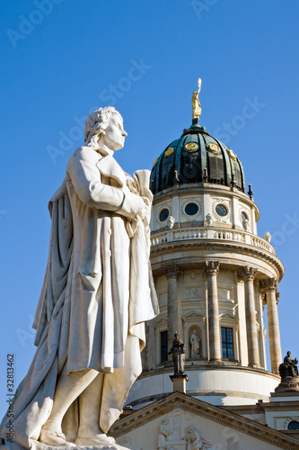Schiller at the Gendarmenmarkt
