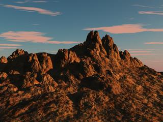 altas montañas