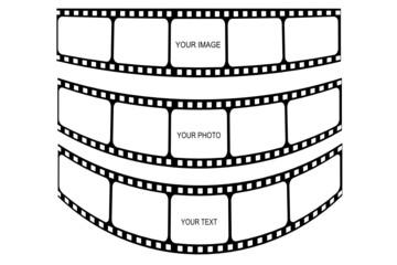 Filme gebogen