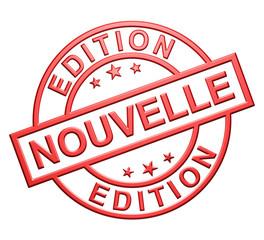 """""""Nouvelle Edition"""" Cachet"""