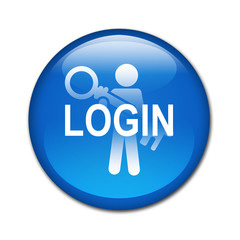 Boton brillante LOGIN