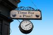 Leinwandbild Motiv Irisches Pub