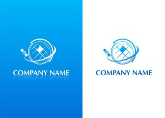 Company logo - satellite, weather forecast