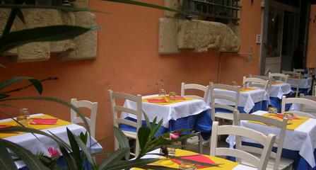 tavoli al ristorante