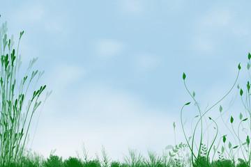 piante e cielo