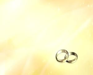 animazione 3D di anelli in oro