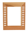 Picture frame. Isolated