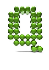 Digital alphabet Q