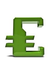 Digital alphabet euro