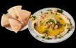 Hummus. Isolated