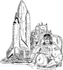 spaceman shuttle